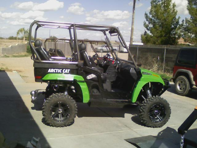 Korporatex Arctic Cat Cage And Rear Bumper Arctic Cat