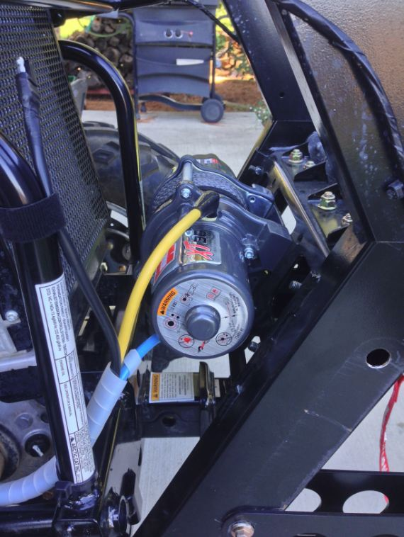 Winch install - Page 3 - Arctic Cat Prowler Forums ...