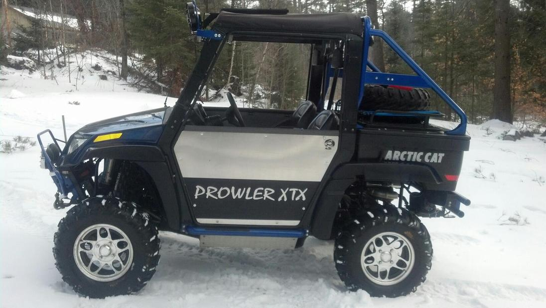 Click image for larger version Name 857386_542851999079365_304323678_o.jpg Views 2797 Size 97.6 & check these doors out - Arctic Cat Prowler Forums: Prowler UTV Forum