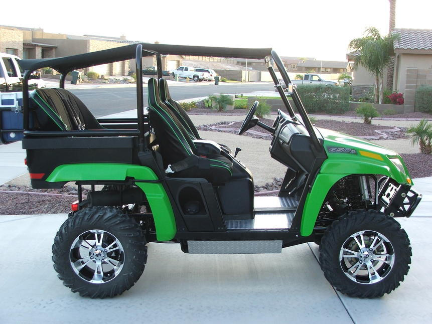 Prowler Wont Go Over 35 On The Street Arctic Cat