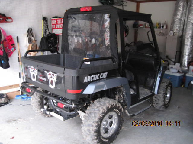 09 Xtx 700 Efi Over 28k Invested Arctic Cat Prowler