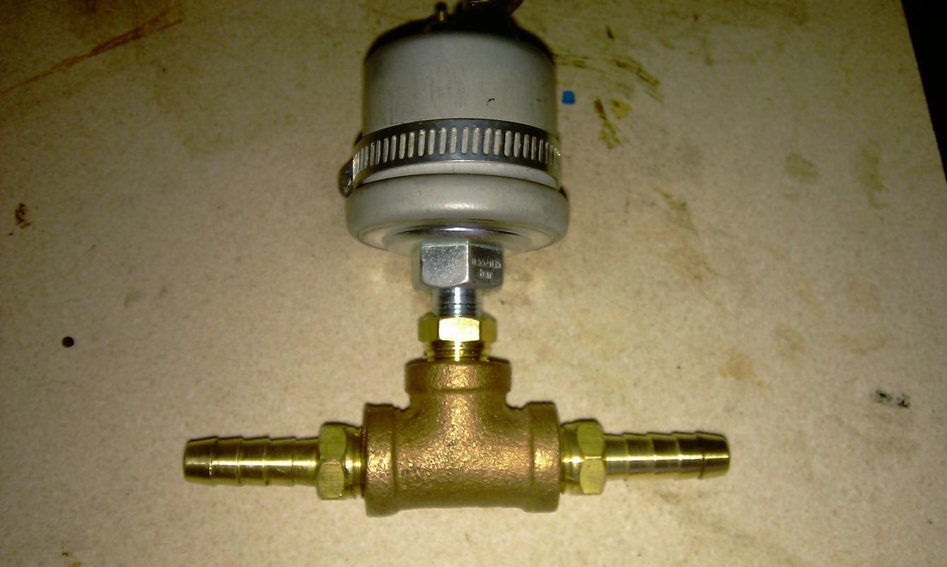 Installing Oil Pressure Gauge On 650   - Page 2