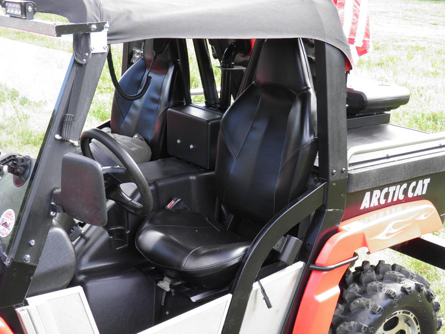 Polaris General 4 Seater >> Will Polaris RZR High Back Seats Fit In My Prowler? - Page 4 - Arctic Cat Prowler Forums ...
