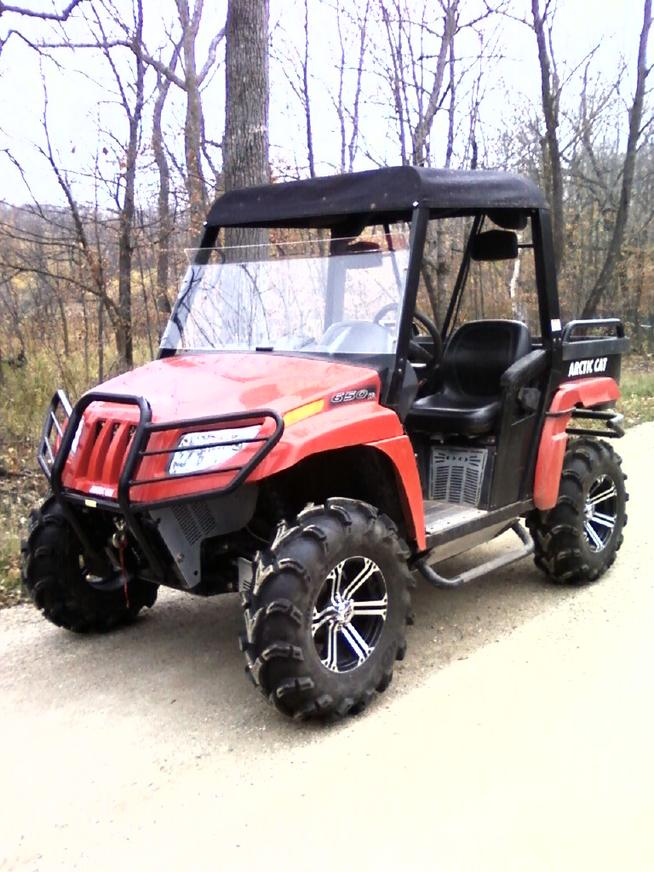 28 Quot And 30 Quot Mud Tires Page 2 Arctic Cat Prowler Forums